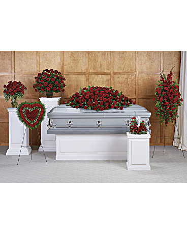 Teleflora's Greatest Love Collection Sympathy Arrangement