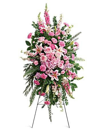Glorious Farewell Spray Sympathy Arrangement