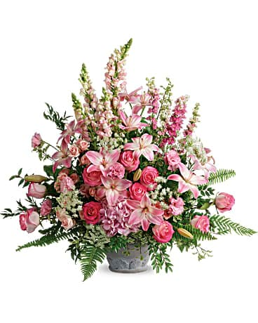 Teleflora's Graceful Glory Bouquet Flower Arrangement