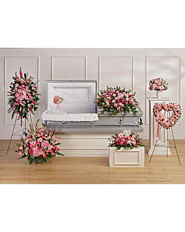 Teleflora's Beautiful Memories Collection Sympathy Arrangement