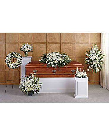 Teleflora's Grandest Glory Collection Sympathy Arrangement