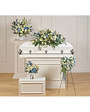 Tender Remembrance Collection Sympathy Arrangement