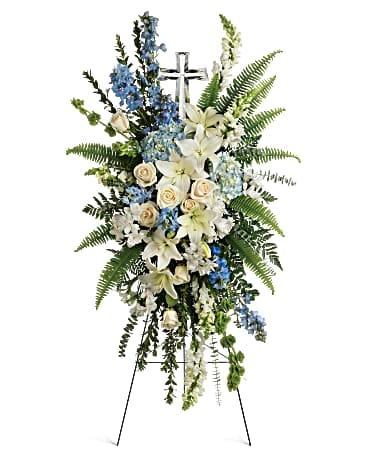 Teleflora's Eternal Grace Spray Sympathy Arrangement