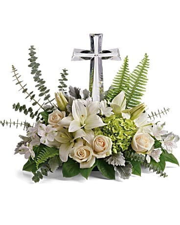Life's Glory Bouquet by Teleflora (Large Cross)