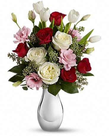 Love Forever Bouquet with Red Roses Bouquet