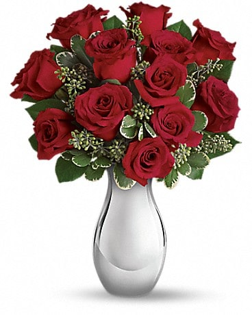True Romance Bouquet with Red Roses [T400-3A] Bouquet