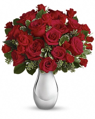 True Romance Bouquet with Red Roses Bouquet