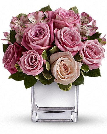 Teleflora's Rose Rendezvous Bouquet Flower Arrangement