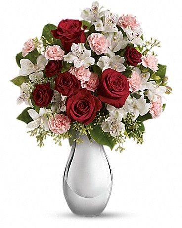 Crazy for You Bouquet with Red Roses Bouquet