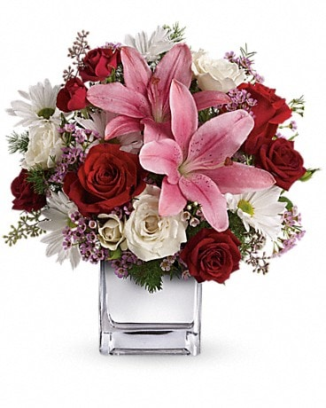 Teleflora's Happy in Love Bouquet Bouquet