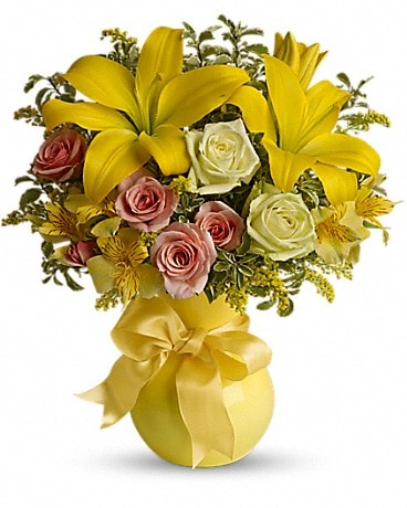 Flowers & More Sunny Smiles Bouquet