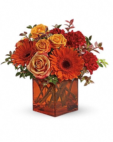 Teleflora's Sunrise Sunset (T47-1A) Flower Arrangement