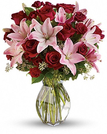 Lavish Love Bouquet with Long Stemmed Red Roses Bouquet