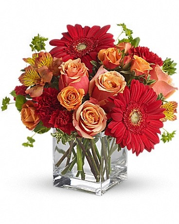 Santa Fe Sunset Bouquet Flower Arrangement