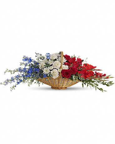 Patriot's Promise Basket Arrangement