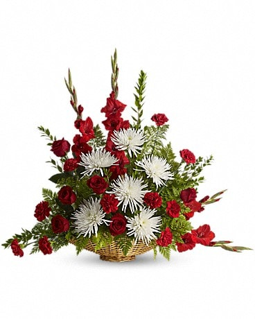 Enduring Grace Basket Arrangement