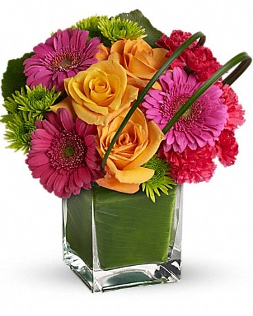 Teleflora's Party Girl Flower Arrangement