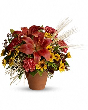 Warm Welcome Flower Arrangement