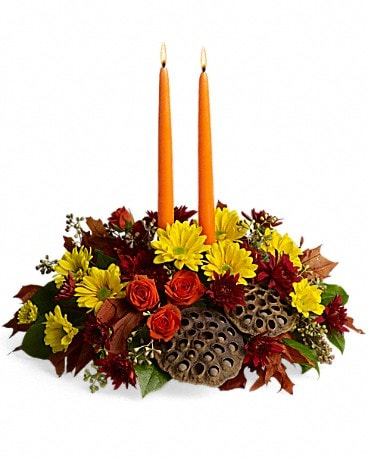 Harvest Glow Flower Arrangement