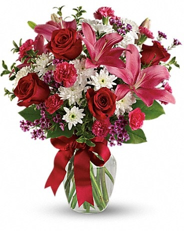 For My Sweetheart - T586-1A Bouquet