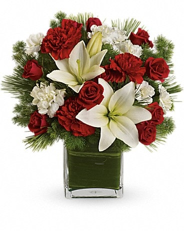 Teleflora's Enchanted Winter Bouquet Flower Arrangement