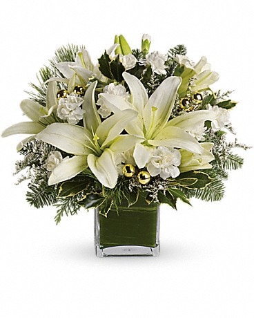 Teleflora's Diamonds & Icicles Bouquet Flower Arrangement
