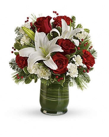 Christmas Flowers Delivery Vancouver Bc Garlands Florist