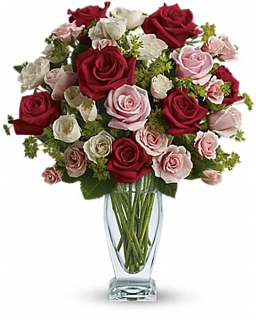 Cupid's Creation with Red Roses by Teleflora Bouquet