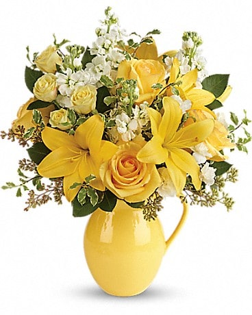 Teleflora's Sunny Outlook Bouquet  T601-1A Bouquet