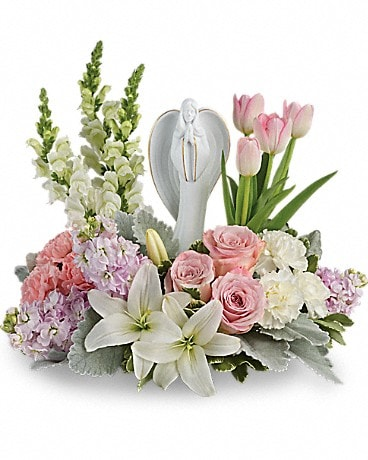 Teleflora's Garden Of Hope Bouquet Flower Arrangement