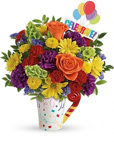 Teleflora's Celebrate You Bouquet [T601-7A] Bouquet