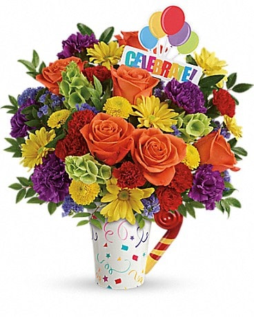 Teleflora's Celebrate You Bouquet Bouquet