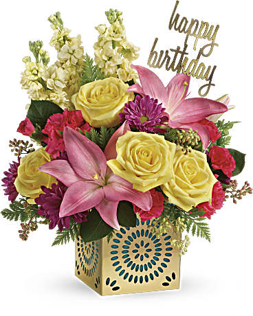 Teleflora's Blooming Birthday Bouquet Bouquet