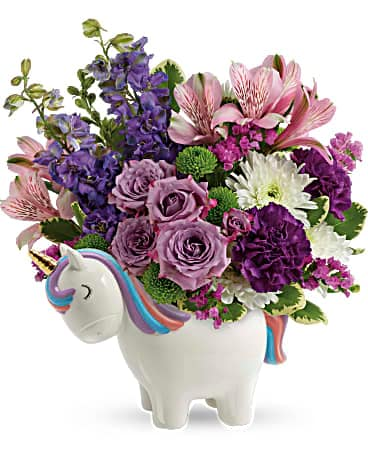 Teleflora's Magical Mood Unicorn Bouquet
