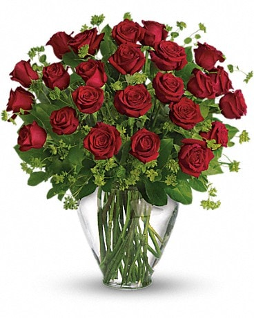 2 Dozen Long Stemmed Red Roses Bouquet