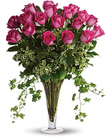 Dreaming in Pink - Long Stemmed Pink Roses