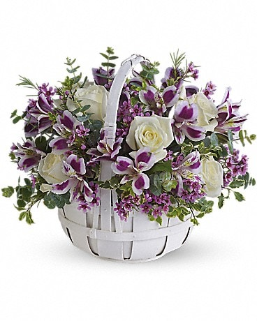 Sweet Moments Basket Arrangement
