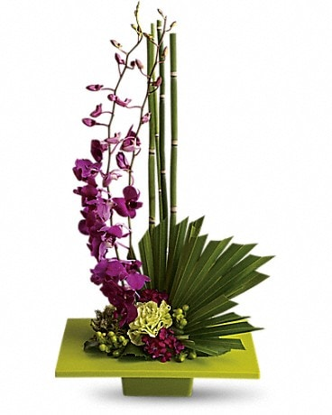 Zen Artistry  #T81-1A Flower Arrangement