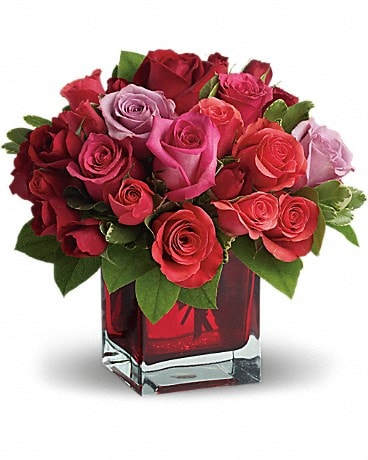 Flowers & More Madly in Love Bouquet with Roses