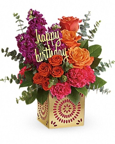 Teleflora's Birthday Sparkle Bouquet Bouquet