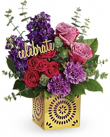 Teleflora's Thrilled For You Bouquet (TBC03-2A) Bouquet