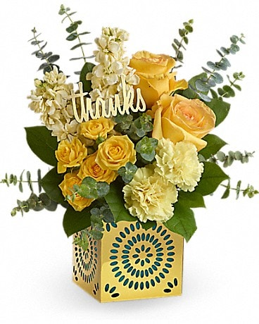 William Paul Design's Shimmer Of Thanks Bouquet Bouquet