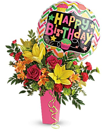 Birthday Bash Bouquet - TBC04-1A