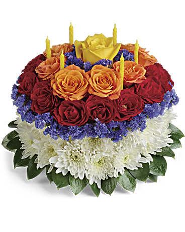 Your Wish Is Granted Birthday Cake Bouquet In Aylmer ON