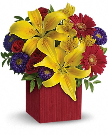 Teleflora's Summer Brights Bouquet