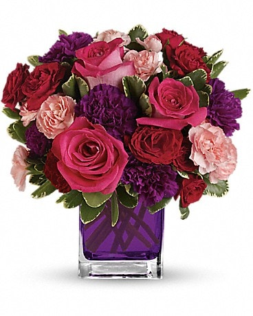 Bejeweled Beauty by Teleflora (TEV19-1A) Bouquet