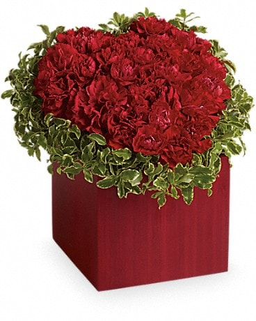 Hopelessly Devoted by Teleflora Flower Arrangement