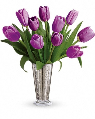 Tantalizing Tulips Bouquet by Teleflora Bouquet