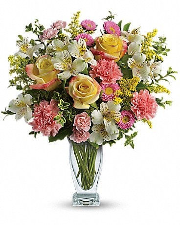 San antonio florist flower delivery by xpressions florist 7495 meant to be bouquet by teleflora mightylinksfo