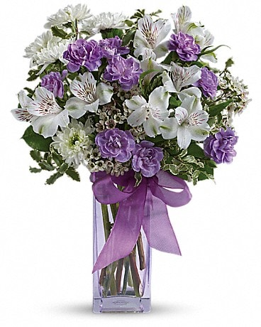Teleflora's Lavender Laughter Bouquet Bouquet
